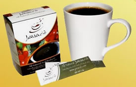 Add one packet of JAVAcid to any coffee, mocha, latte or espresso, at home or on the go for soothing stomach relief!